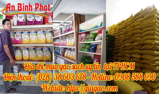 địa chỉ mua gạo sạch