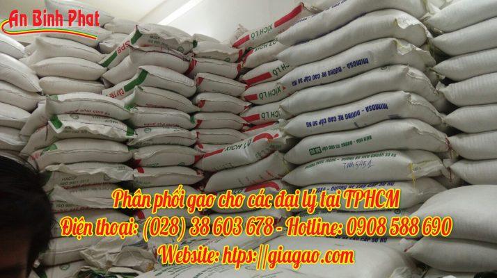 phân phối gạo giá sỉ