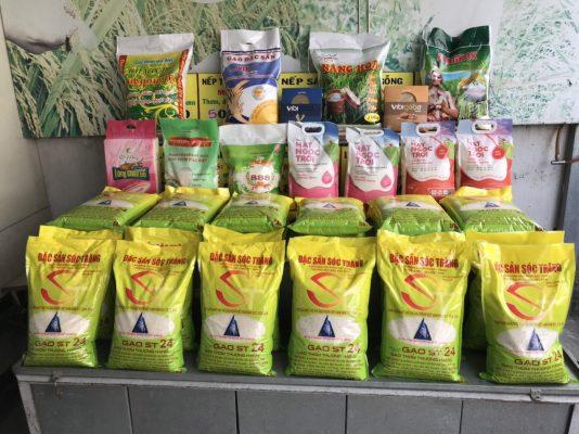 Phân phối gạo đặc sản Sóc Trăng