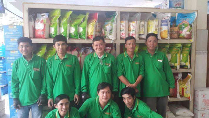 Đội ngũ giao hàng An Bình Phát