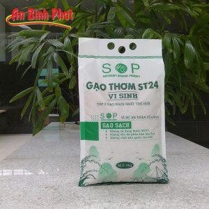Gạo ST24 hữu cơ vi sinh